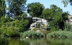 kövek és sziklák tavasz kertek és parkok