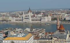 Budapest,Kilátás a Halászbástyáról