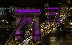 magyarország lánchíd híd budapest éjszakai képek