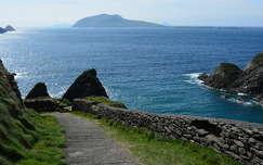 út tenger tengerpart írország kövek és sziklák