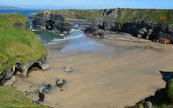 öböl kövek és sziklák tengerpart írország