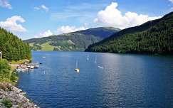 alpok hegy tavasz tó