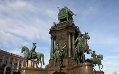 Ausztria, Bécs - Mária-Terézia-emlékmű