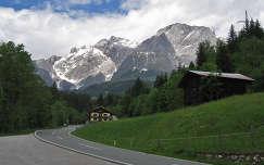 Ausztria 164-es útról a Hochkönig