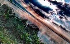 Kövek, felhők, színek, Balaton...