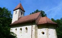 Árpád-kori Szentháromság templom - Velemér
