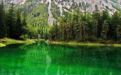 ausztria alpok hegy tó nyár