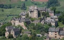 Franciaorszàg, Clairevaux d'Aveyron, Panat kastély