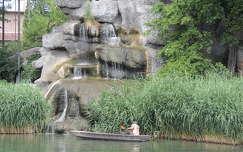 Vízesés a Budapesti Állatkertben