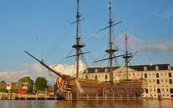 hajómúzeum, Amsterdam, Hollandia