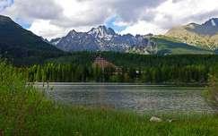 szlovákia csorba-tó tátra tó hegy kárpátok