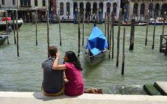 Venice - loving couple