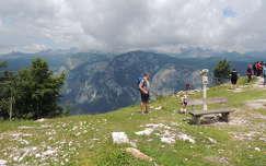 Szlovénia,Kilátás a Vogel hegyről