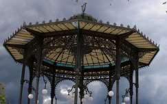 Olaszország, Szicília, Catania - Bellini Kert pavilonja