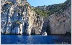 Görögország, Paxos - Kék barlangok