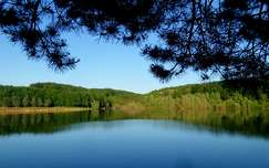 Magyarország, Zala megye, Lendvadedes, lendvadedesi tó, tó