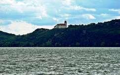 tó tihanyi-félsziget tihanyi apátság magyarország balaton templom