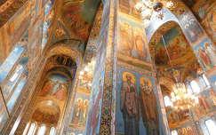 Szentpétervár, a Vérző Megváltó templom mozaikborítása