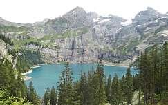 nyár hegy tó fenyő örökzöld kövek és sziklák