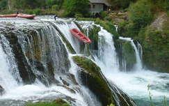 Strbcki Buk vízesés, Bosznia
