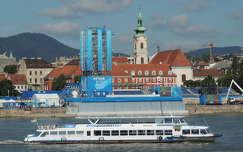 Úszó vb helyszíne a Dunán,Budapest