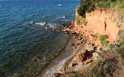 Vir sziget, tengerpart