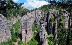 Prachovi sziklák, Cseh Paradicsom