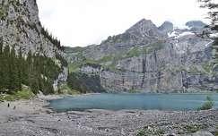 kövek és sziklák hegy tó