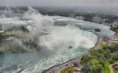 A Niagara vízesés látképe a Skylon toronyból