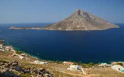 Görögország - Kalymnos, szemben Telendos-szigete