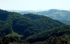 Kéklő hegyek Erdélyben