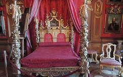 Miramare kastély , V. Miksa hálószobája,Trieszt,Olaszország