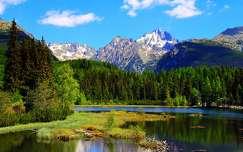 hegy nyár tó