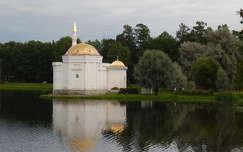 Oroszország, Carskoje Selo, parkrészlet