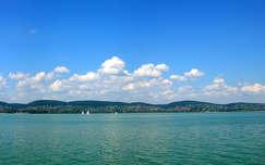 Balaton, nyár, magyarország