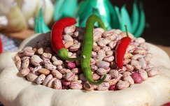 ősz zöldség paprika bab