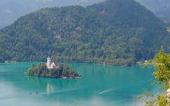 Bledi tó a szigettel,Szlovénia