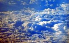 Felhők a magasból nézve!