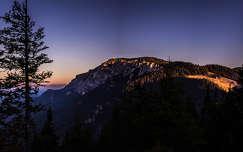 erdély hegy románia naplemente kárpátok