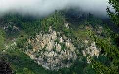 útmenti sziklafal, Ausztria