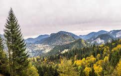 erdély kárpátok hegy románia ősz