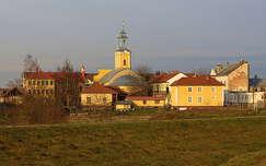 Vásárosnamény a Kraszna-hídról