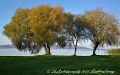 Őszi díszben a Balaton