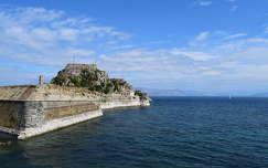 Korfu, Régi erőd