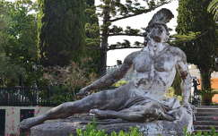 Korfu, Achilleion, a haldokló Achilleus