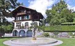 szobor ház szökőkút