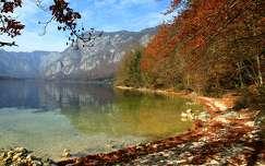 ősz öböl hegy