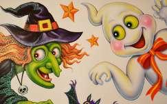 halloween grafika