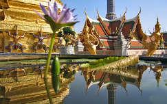 A Smaragd Buddha temploma, Bangkok, Thaiföld
