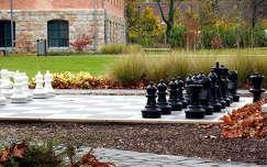 Park, sakktábla